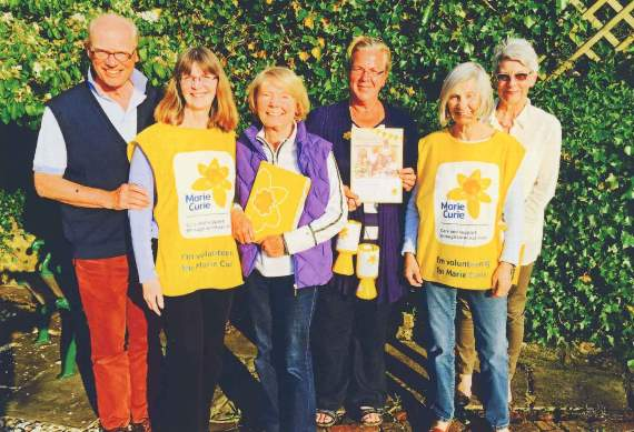 £30,000 raised for Marie Curie