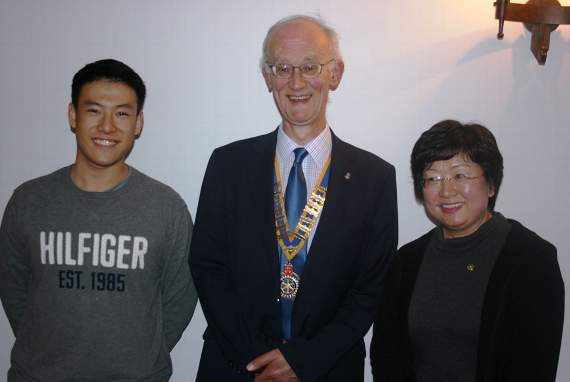 Rotary club's link to Far East