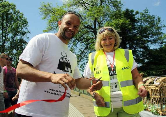 Local estate agent to sponsor Mair's Walk