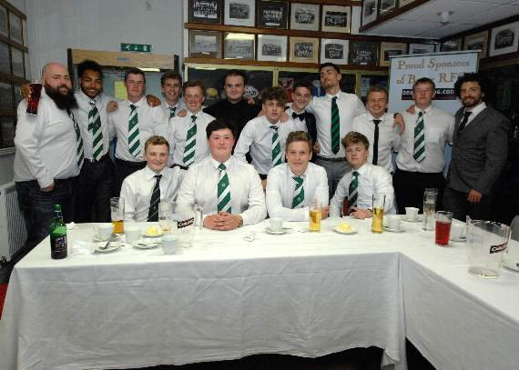 Barry RFC celebrate end of successful season