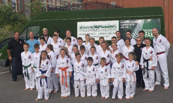 New Tae Kwon Do club opened by champion Lee!