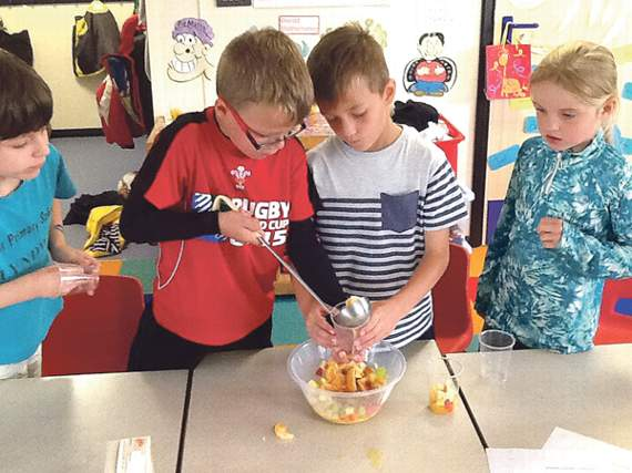 Pupils focus on healthy living