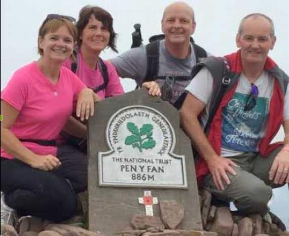 Nurse wants to put cancer in its place with Three Peaks Challenge