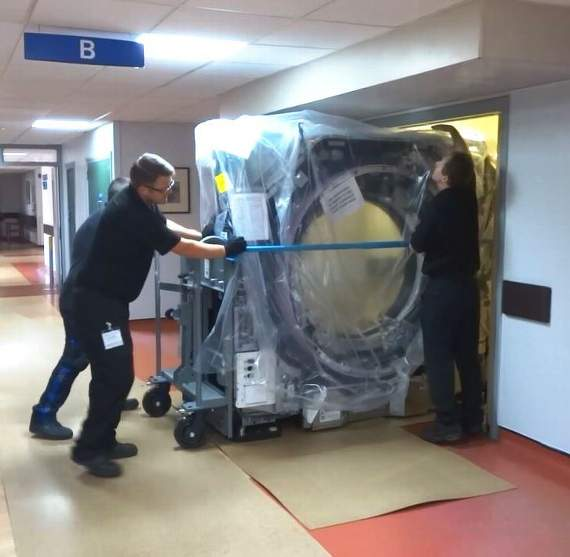 PoW Hospital takes delivery of second CT scanner