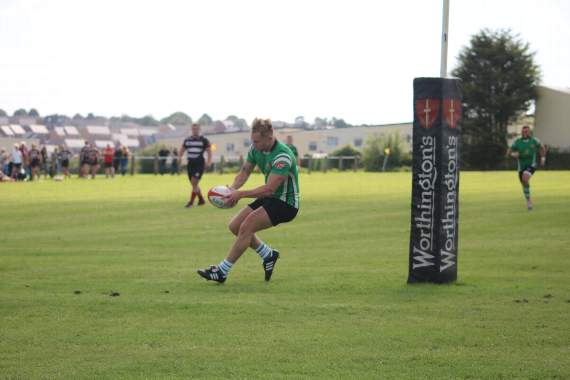 Impressive signs as Barry RFC win friendly thriller