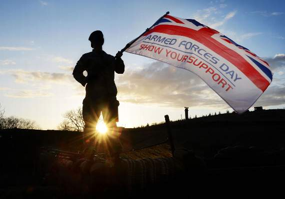 Armed Forces Day events in The Vale and Bridgend