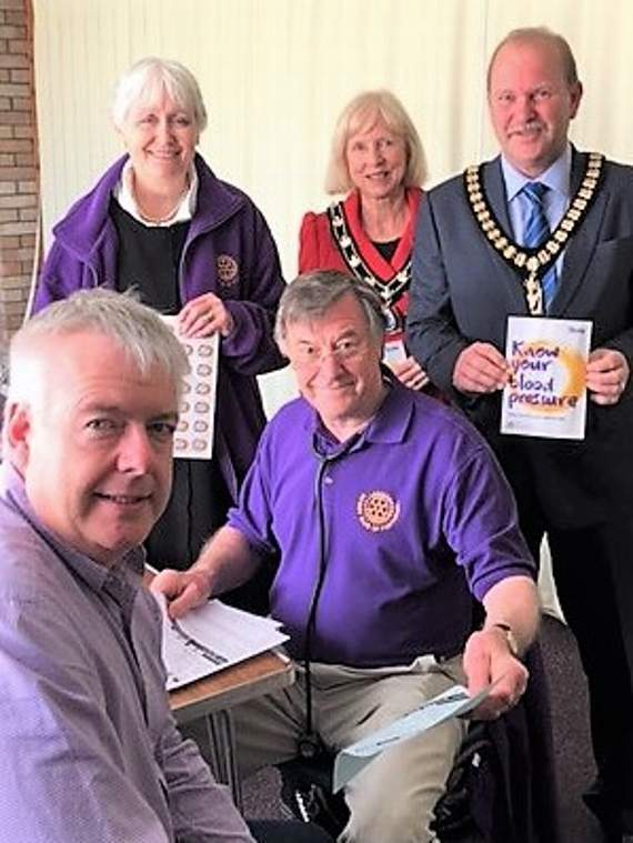 'Know Your Blood Pressure Day' at Porthcawl
