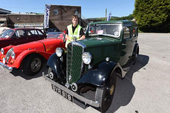 South Wales Classic Car meet supports Stroke Association