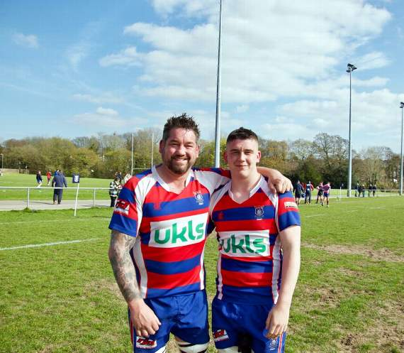 Father and son turn out for Tondu RFC