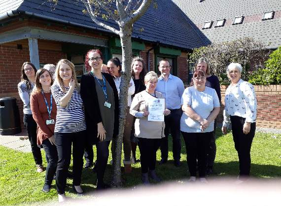 Dementia friendly group visits Barry GP surgery