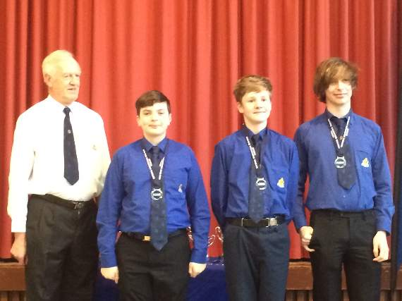 Llantwit Boys' brigade members compete in national championship